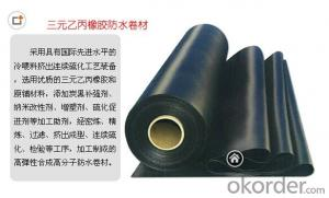 EPDM Roof Waterproof Membrane with Pure Material