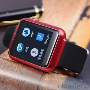 3G Smart Watch Android Operate System 4.4 in 2.0M Camera Smart Phone Watch