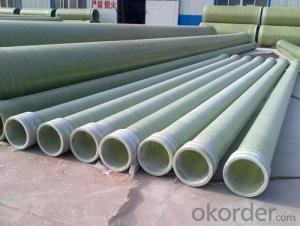 FRP Process Pipe/Light Weight and High Strength FRP Pipe
