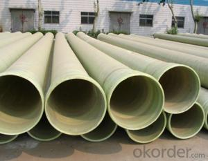 FRP Process Pipe/FRP Pipe with Sand Filler