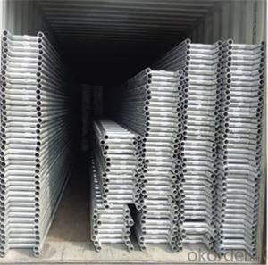Ladder Beam 350*3000 Q235 Carbon Steel  for Scaffolding CNBM