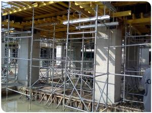 Q235 Steel Layher Ringlock Scaffold with Top Quality   CNBM
