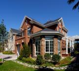 Casa prefabricada de estructura de acero liviano con larga vida útil