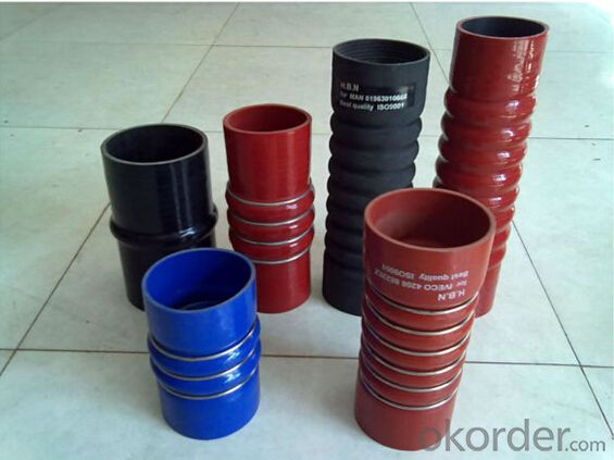 Silicone  Air  Hose High Pressure  Fibre Braided  2 Inch OEM