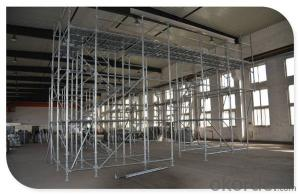 En12810 Construction Tower Ringlock Scaffolding System CNBM