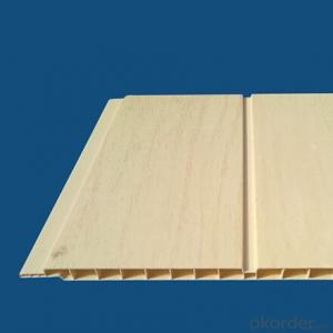 PVC Ceiling Panel New Designs Double Groove Panel