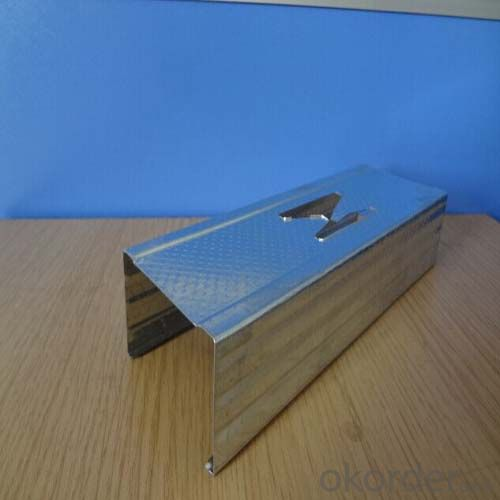 Galvanized Steel Profile Drywall Stud With Gypsum Board