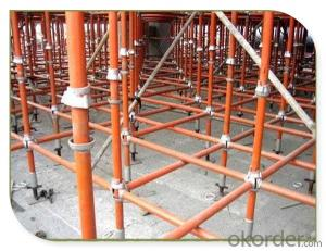 Galvanized Steel Cuplock Scaffolding System For Heavy Construction CNBM