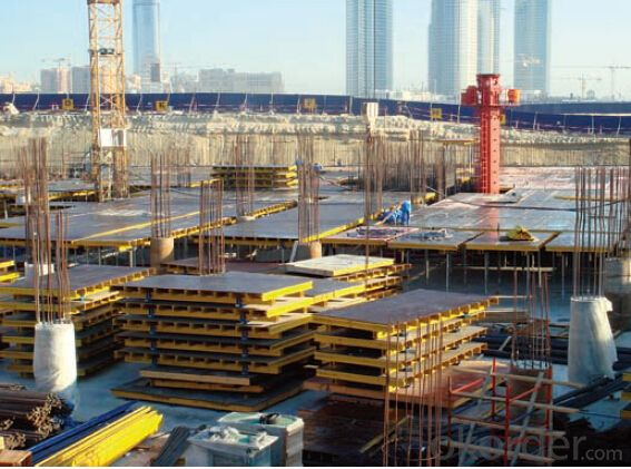 Table Formwork with Easy Installation and Collection