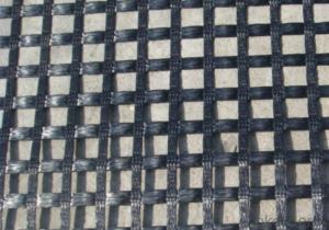 Black PP Geogrid  Used In Softbed Foundation