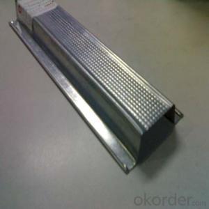 Perforated Drywall Stud Track Metal Profile Price