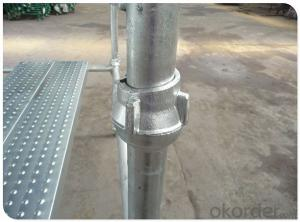 Galvanized Steel Cuplock Scaffolding System with Good Anti-rust for Large Construction CNBM