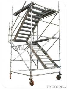 Hot DIP Galvanized Cuplock Scaffolding System for Sale CNBM