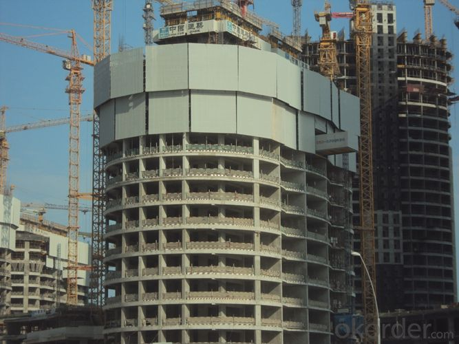 Hydraulic  Auto-Climbing Formwork for Buildings and Other Uses