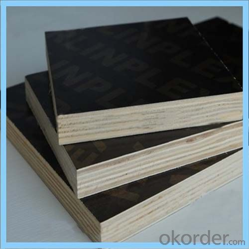 9mm U0026 12mm Black Film Faced Plywood For Nepal Market