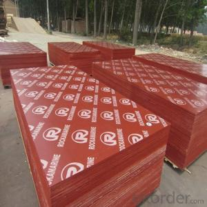 1220x2440X12mm Red & Yellow Film Faced Plywood with Low Price