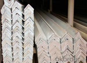 A60*60*6  galvanized angle steel for construction