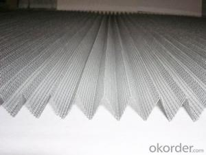 Fiberglass and Polyester Pleated Mesh in High Moq