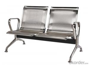 KXF- Airport Waiting Chair Made of 202 Stainless Steel