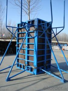 Steel Frame Formwork GK120 with Reasonable Prices for Large Projects