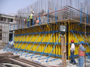 Timber Beam Formwork Used for Concrete Pouring for Housing Buildings