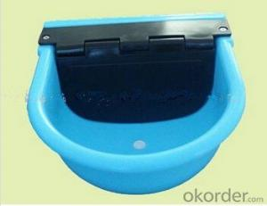 4L Plastic Water Bowl with Self-Filled Float for Cattle or Horses