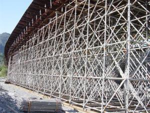 RingLock Scaffolding with Hot or Cold Galvanized Surface