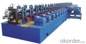 Anti Theft Door Steel Profiles Cold Roll Forming Machine