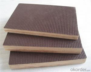 Anti-Slippery Film Faced Plywood Anti-Slip Film Faced Plywood