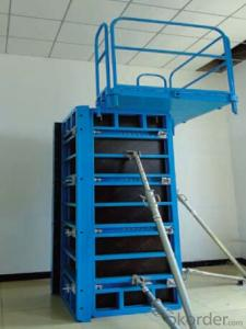 Steel Frame Formwork GK120 with Competitve Prices for Large Projects