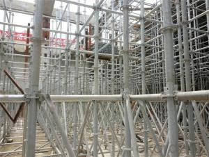 Ring-Lock Scaffolding , Door Scaffolding , Tower Scaffolding with Hot or Cold Galvanized Surface