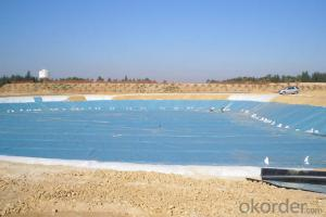 LLDPE Geomembrane for Environmental Projects Water Conservancy Projects Landfill Mining  Canal