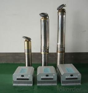 DC Solar Water Submersible Pump for Irrigation Purpose