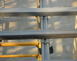 Aluminum Scaffolding Step Ladder in light weight CNBM