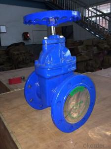 Non-rising Stem Resilient Seated Gate Valves Made of Metal