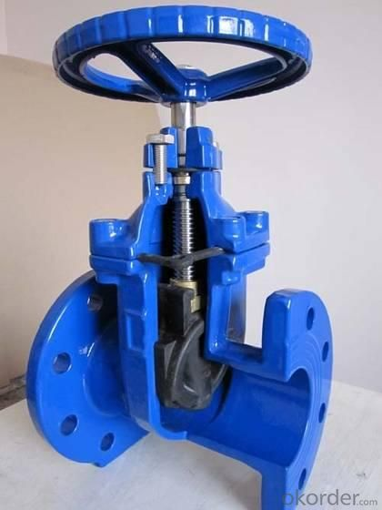 Non-rising Stem Resilient Seated Gate Valve Made of Ductile Iron