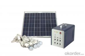 Home Off-grid Solar Power System DC Lighting JS-SPS-200C