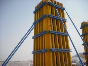 Timber Beam Formwork Used for Concrete Quick Pouring