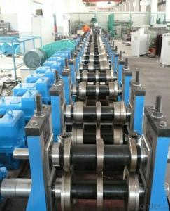 Steel Purlin Profiles Cold Roll Forming Machine