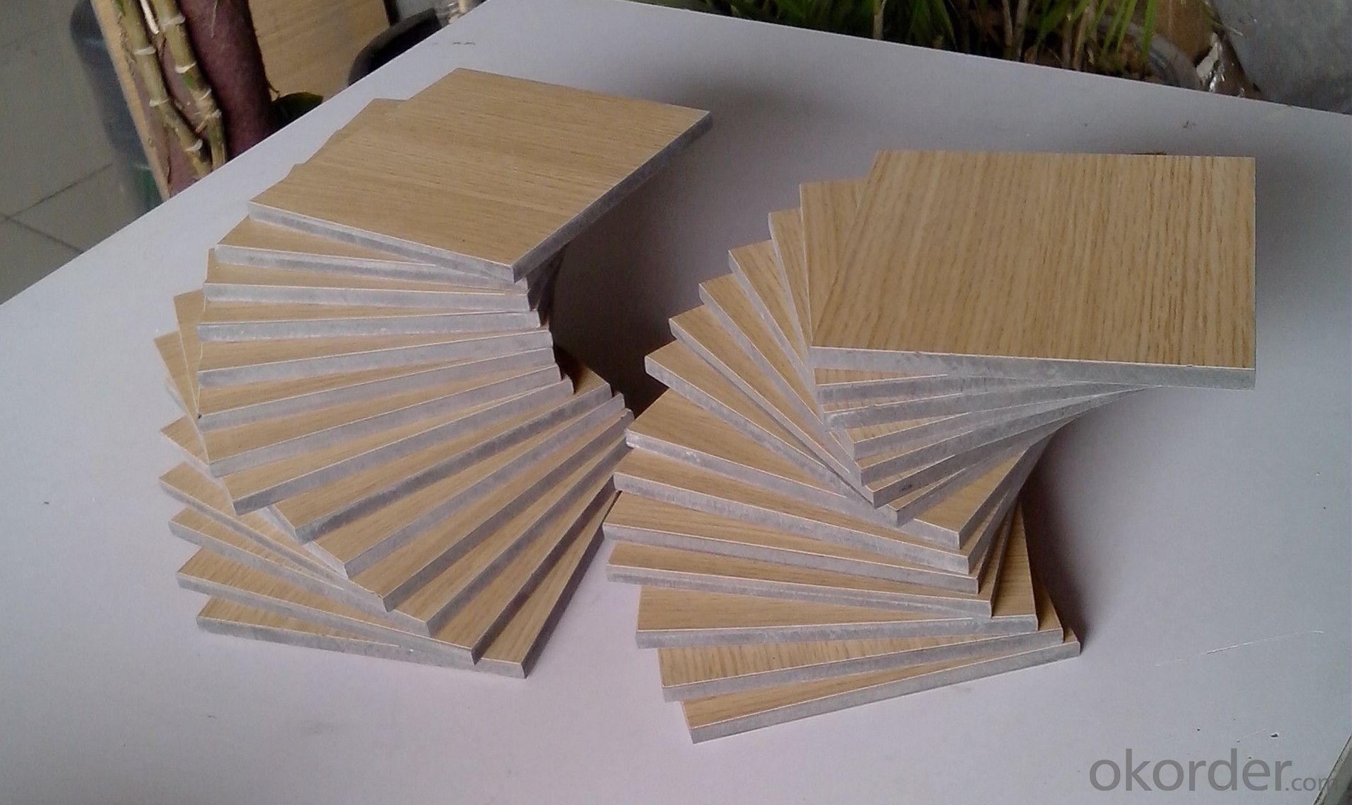 Compact High Pressure Laminate Wood Grain Surface