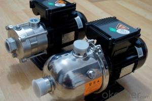 CHL/CHLF(T) Horizontal Multistage Stainless Steel Centrifugal Pumps