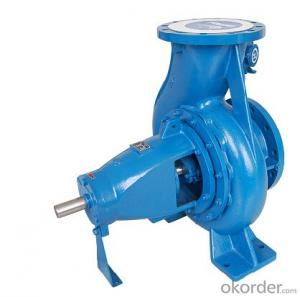 ISO Standard Horizontal Centrifugal End Suction Water Pump