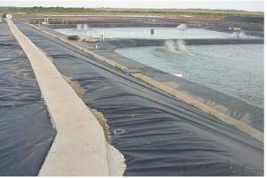 HDPE Textured Geomembrane for River tunnel