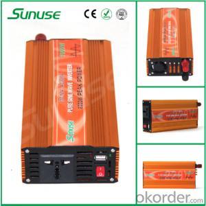 Off Grid 1000W DC 12/24V to AC 110/220V Pure Sine Wave Inverter