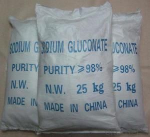 Sodium Gluconate with Best Price and High Quality  in China