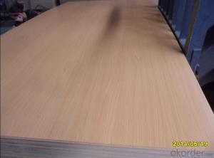 4mm One Side Melamine MDF Board for Decoration and Furiniture
