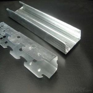 Drywall Metal Profile of Track Zinc Galvanized