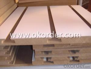 18mm Melamine Slotted Board without Aluminum
