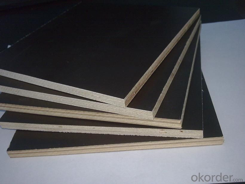 Full Hardwood Core Black Film Faced Plywood