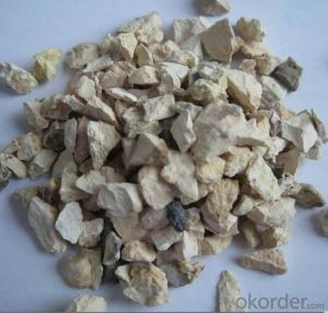 75% alumina 1-3mm calcined bauxite with low price